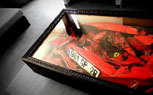 "Wrecked Ferrari ""Reclaimed"" For Coffee Table"