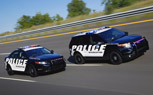 Ford Police Interceptors to Serve as NASCAR Pace Cars