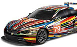 Artist Jeff Koons Creates Scale Model BMW M3 GT2 Art Car