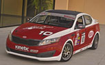 Kia Racing Campaigning Two Optima SXs In World Challenge: 2011 LA Auto Show