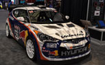 Hyundai Veloster Storms The Show Floor: 2011 SEMA Show