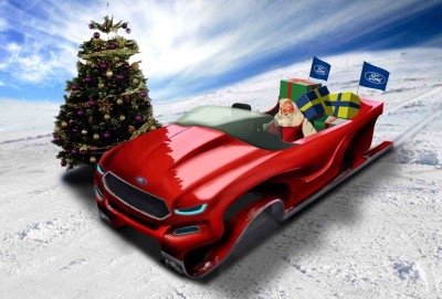 Ford EcoBoost sleigh