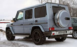 Mercedes-Benz G55 and G65 AMG Spied