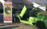 Man Wins Lamborghini Murcielago, Crashes It Hours Later… On Purpose? [Video]