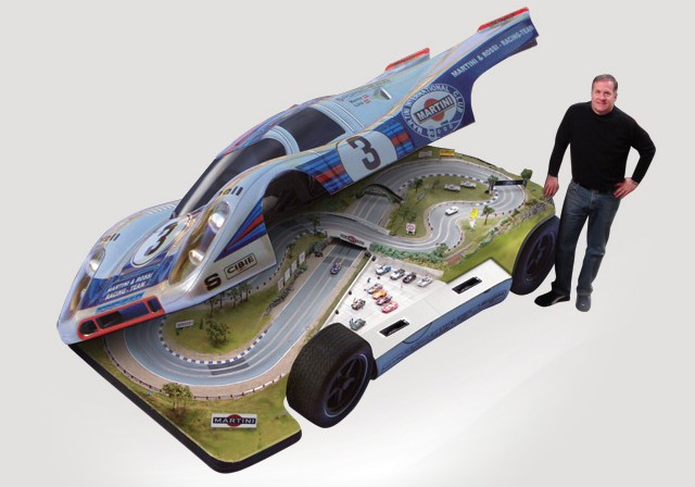The Limited Edition Rcr 917 Slot Car Track By Slot Mod Is Child S