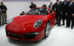 2012 Porsche 911 Cabriolet Priced from $97,300: 2012 Detroit Auto Show