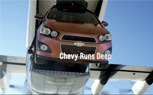 Chevy Sonic Stunt Anthem Shows Off its Antics for the Super Bowl [Video]