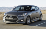 Hyundai Veloster Turbo Gets 201-HP, Matte-Gray Paint: 2012 Detroit Auto Show