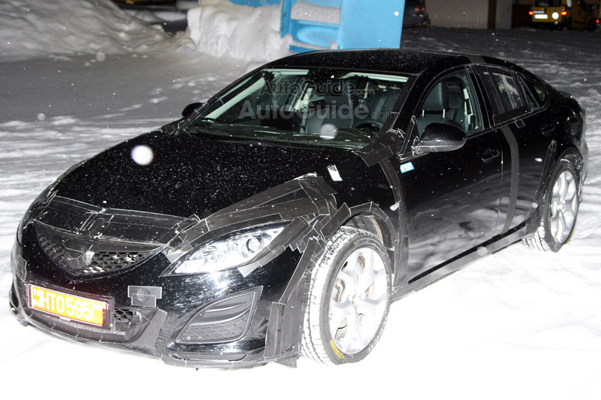 2013 Mazda6 Mule Caught Testing Skyactive Technologies [Spy Photos]