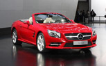 2013 Mercedes SL550 Grows Some, Goes on a Diet [Video]: 2012 Detroit Auto Show
