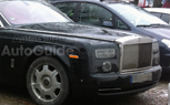 Facelifted Rolls-Royce Phantom Spied