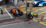 Pagani Zonda Crashed in Hong Kong