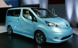 Nissan e-NV200 Concept Brings Leaf Technology to a Van: 2012 Detroit Auto Show