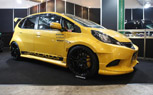 Takeros Honda Fit Turbo Gets Wide and Wild: 2012 Tokyo Auto Salon