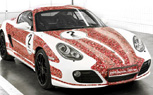 Facebook Themed Porsche Cayman S Celebrates 2 Million Fans