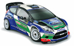 2012 Ford Fiesta WRC Rally Car Livery Unveiled