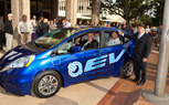 First Honda Fit EV Delivered to City of Torrance, California