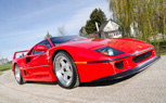 Lee Iacocca's Ferrari F40 Heading to Auction