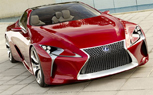 Lexus LF-LC Fully Revealed in New Photos: Detroit Auto Show Preview