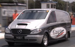 World's Fastest Mercedes-Benz Vito Runs 9s [Video]