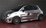 Chrome Fiat Abarth 695 Tributo Ferrari By Office-K [Video]