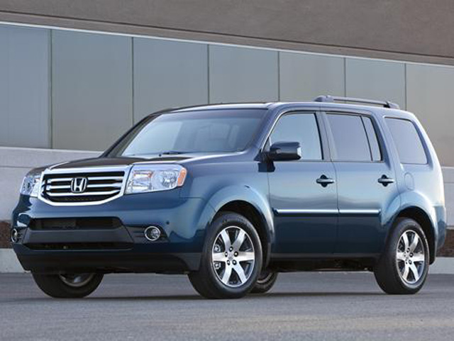 2012 Honda Pilot and Acura MDX SUVs Recalled Over Fuel Leak