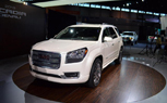 2013 GMC Acadia Denali Gets Surprise Unveil: 2012 Chicago Auto Show