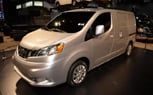 2013 Nissan NV200 Cargo Van Moves in on Ford's Game: 2012 Chicago Auto Show