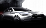 Kia KH Teased as New Rear-Drive Luxury Sedan