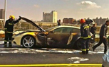 Ferrari FF Catches Fire In Shanghai