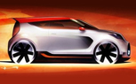 Kia Trackster Concept Teased Ahead of Chicago Auto Show