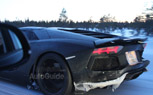 Lamborghini Aventador Roadster Spy Photos Snapped