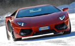 Lamborghini Releases New Winter Driving Pictures