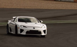 Toyota Racing Pilot Alex Wurz Drives the Lexus LFA at Estoril – Video