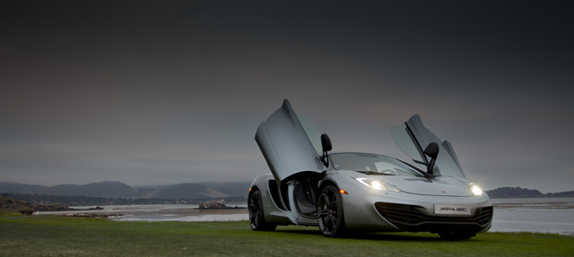 McLaren MP4-12C Pebble Beach