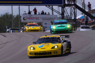 Corvette Racing Mosport 2011