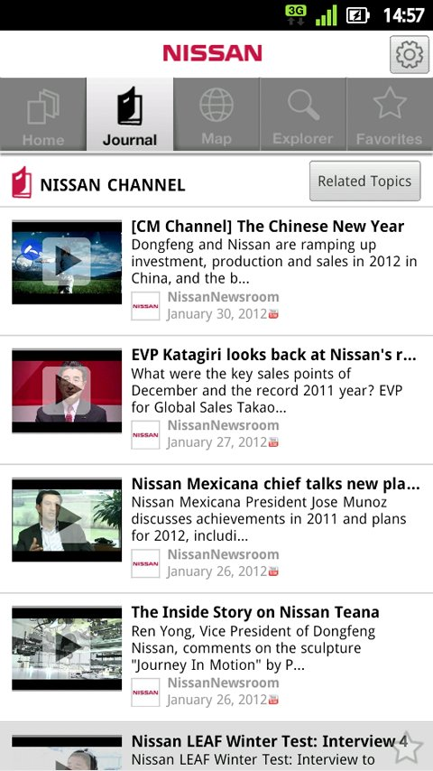 nissan android app