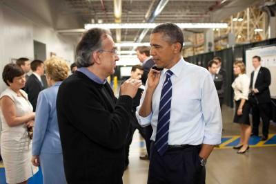 Obama and Marchionne