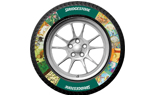 Bridgestone Custom Colored Tires Announced