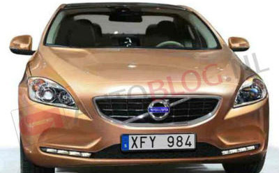 Volvo V40 Pictures Leaked, Again