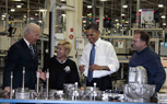 "Obama ""Made in America"" ad Takes Aim at Republican Bailout Criticism"