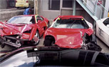 Japanese Exotic Car Pile Up Becomes World's Most Expensive Automotive Graveyard [Video]
