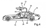 Four-Door Mercedes SLS Patent Filing is Strange but True
