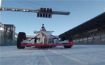 Nürburgring Formula Race Car Takes on Ice and Snow [Video]