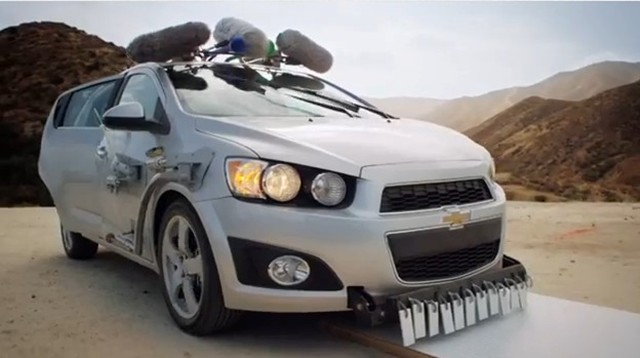 Chevy Sonic Custom >> Ok Go And Chevy Sonic Make Beautiful Music Together