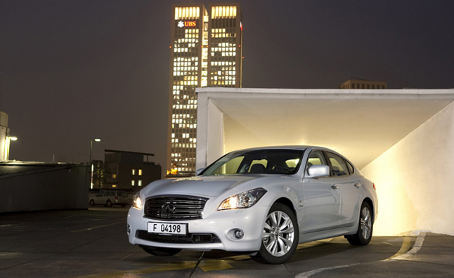 2012 Infiniti M35h Gets Fuel Economy Tweaks