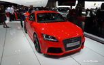 2013 Audi TT RS plus Makes Public Debut: 2012 Geneva Auto Show