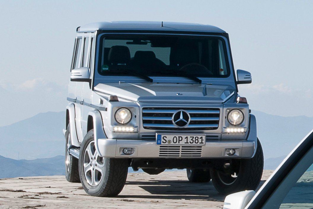 2013 G-Class Spotted in 2013 GLK Press Photos