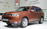 2013 Mitsubishi Outlander is World's First 4WD Plug-in Hybrid: 2012 Geneva Motor Show