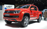 Volkswagen Amarok Canyon Concept — Big Tires and a Roll Bar: 2012 Geneva Motor Show
